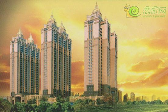核心区;素闻万达公馆打造欧式高层别墅景观社区,引领城市生活新风尚