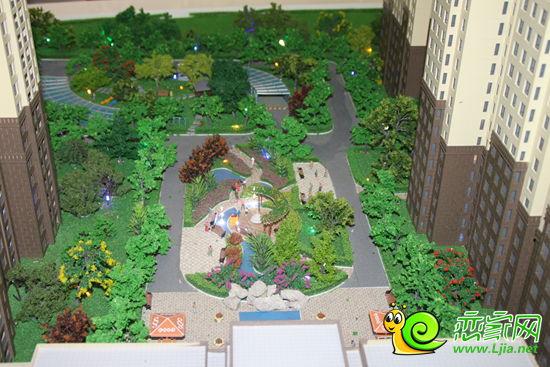 万达公馆沙盘园林景观