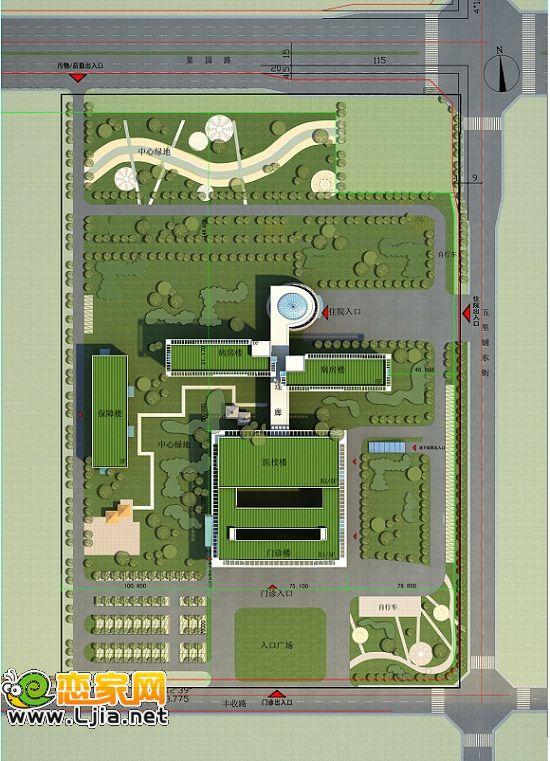 关于邯郸市儿童医院项目的规划公示图片