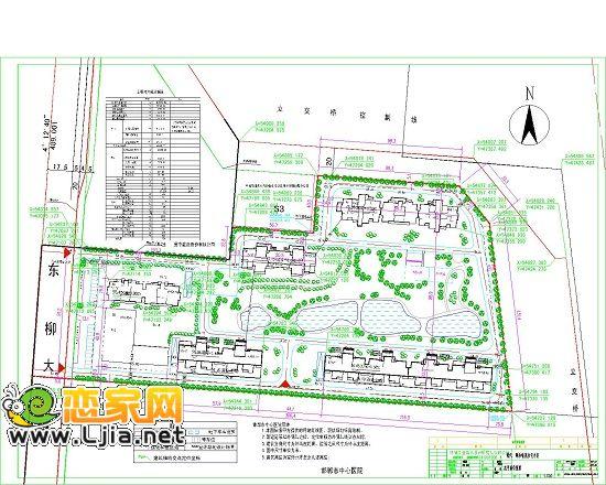 现代·颐和佳苑设计平面图