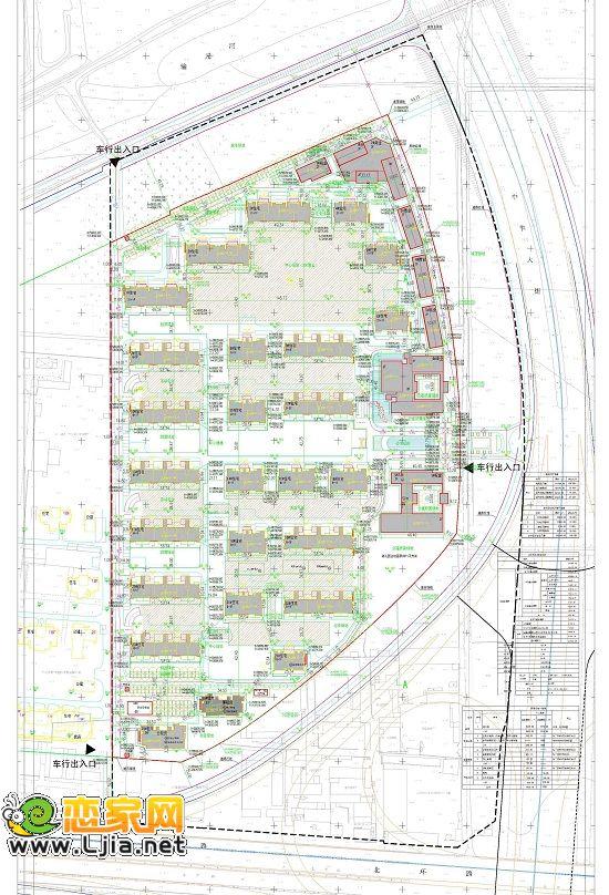 关于赵都华府住宅小区项目的规划公示