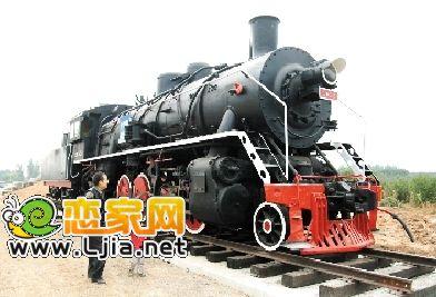 大街型火车头落户邯郸站前蒸汽_邯郸裁缝wow图纸385新闻图片