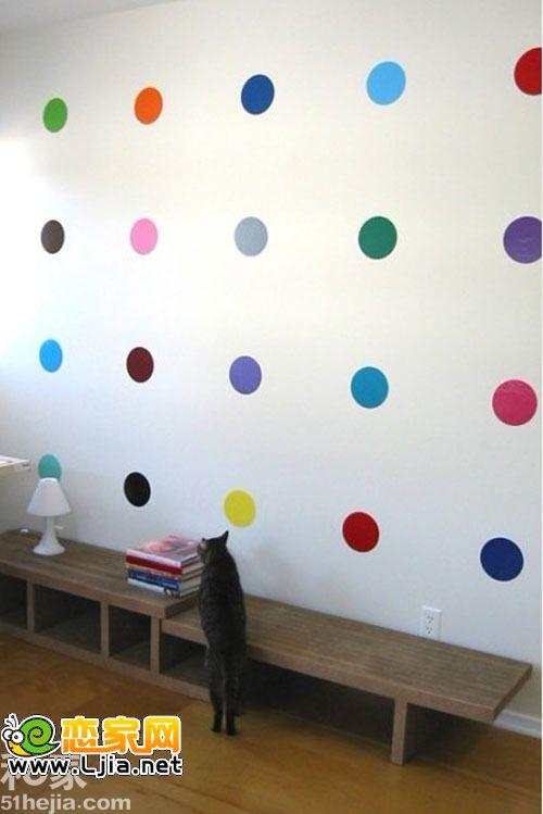 几笔勾勒趣味 10个超简单手绘背景墙