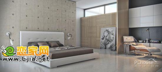 设计师们通过墙体材料的选择,光源的设计以及墙纸艺术,使背