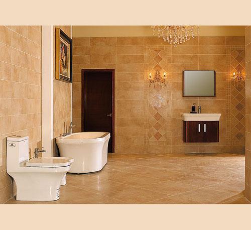 瓷砖卫浴店装修效果图