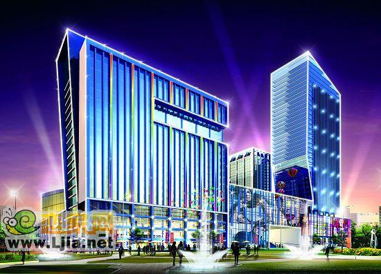 阳光三龙商业广场效果图-大型城市综合体 阳光三龙商业广场最新工程