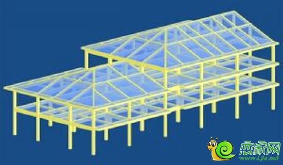框架结构 框架应当纵横双向布置,形成双向抗侧力体系。高层建筑不宜采用框架结构。 2、框架-剪力墙结构 由于框架结构的主要特点是能获得大空间的房屋,房间布置灵活。而其主要弱点是侧刚度较小,侧移较大。而剪力墙结构侧向刚度大,可减小侧移。但是全剪力墙结构无法布置大空间房屋。因此,框架-剪力墙结构体系恰好是对两者取长补短,既能布置大空间房屋与小空间房屋,布置灵活,又具有较大的侧向刚度,弥补纯框架结构之小足,所以广泛用于层数较多、房屋总高较高的建筑,而且可以灵活布置大小空间房间,适应较多的建筑功能要求。 对于地震