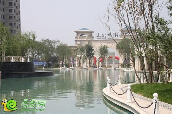 联邦·御景江山项目水系景观