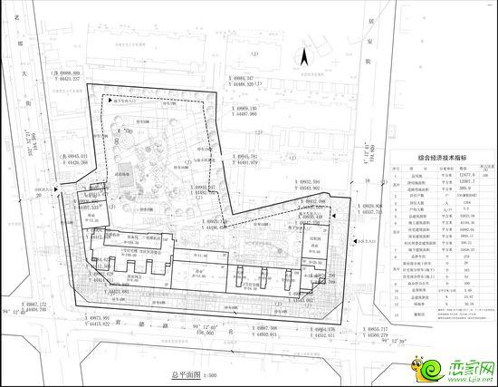 建设工程设计方案总平面图