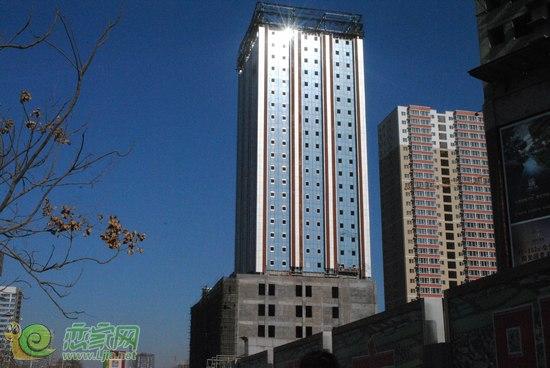 金业国际大厦地处邯郸市南城邯山区核心地段