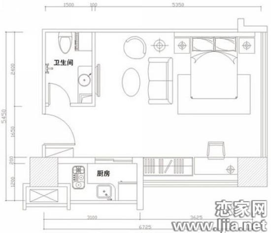 40平方两层设计图