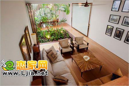 韩国小萝莉晒豪宅 呈现完美现代别墅(3)_设计案例