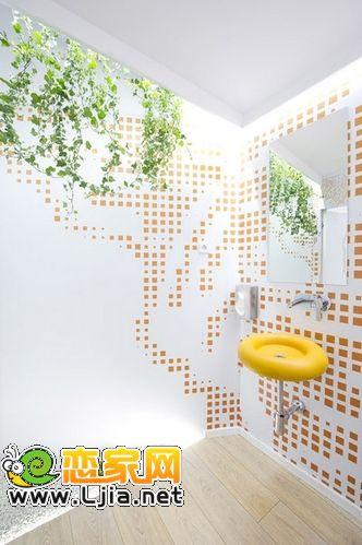 公厕也艺术:soto kangei公厕设计