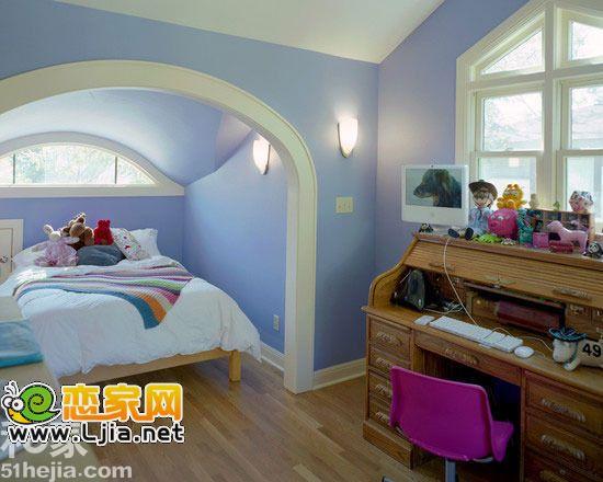 梦想小天地 11个阁楼设计变身儿童房(4)