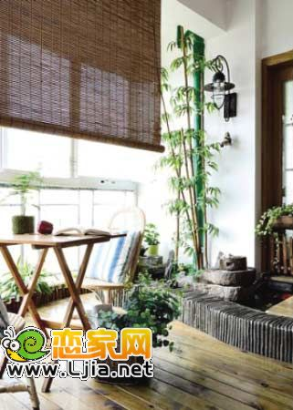 客厅阳台装修效果图:您是否一直向往苏州园林的假山、小湖