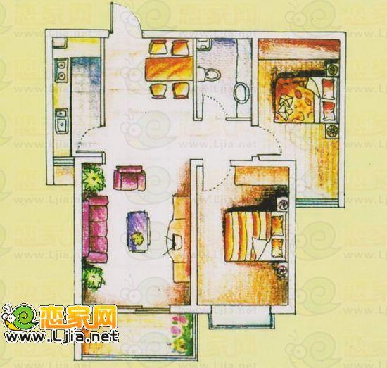 45平方米的房子设计图展示