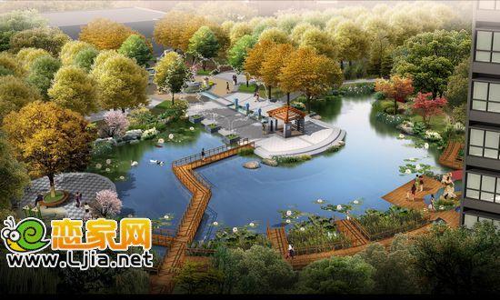 安居东城中庭设计图片