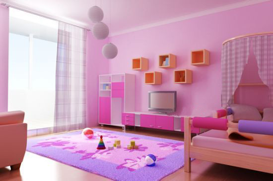 10个漂亮的儿童房间装修配色方案