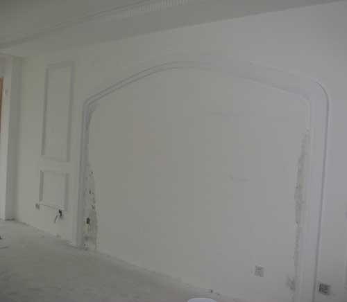 我的梦想家装修实录——第二简单的电视墙
