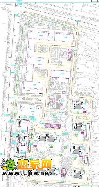 现对调整后的设计方案的总平面图予以现场公示,同时在邯郸城乡规划在