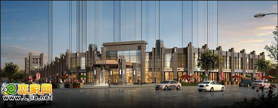 美的城沿街商业效果图-南湖首府,国际滨水城邦美的城 美的生活,极
