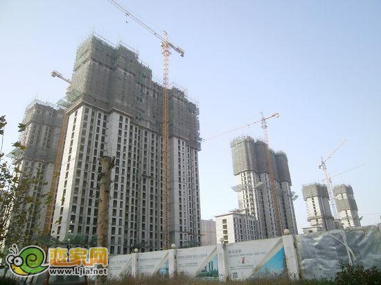 名扬邯郸的宜居大城 五仓新区赵都新城工程进度 进度