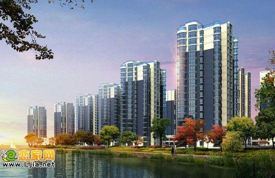 现代海棠湾园林景观效果图