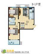 B-1户型 二室二厅一卫