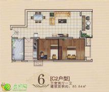 旺峰嘉苑C2户型