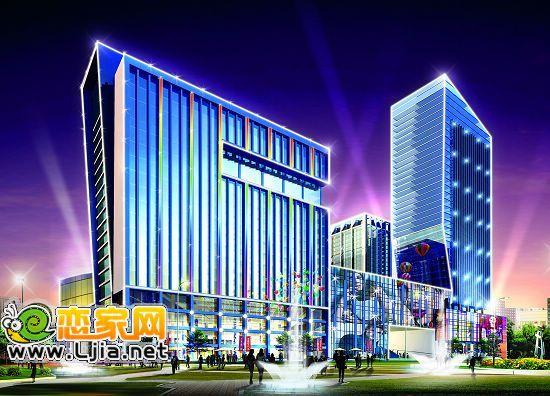 光三龙商业广场效果图 阳光三龙商业广场小区实景图 邯郸阳光三龙商