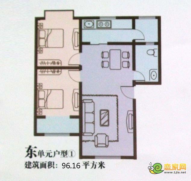 16㎡_永华新城户型图_邯郸