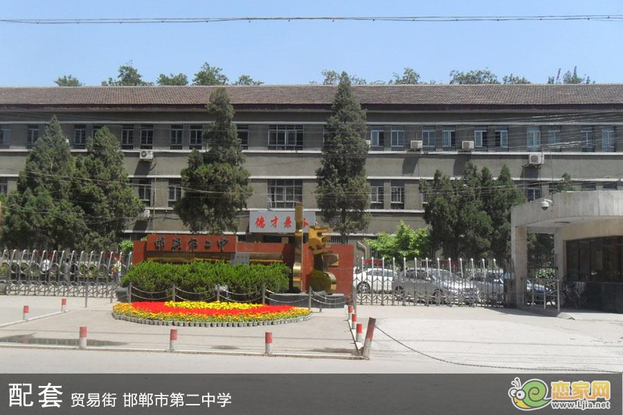 邯郸市第二中学 峰尚国际周边配套图 邯郸峰图片