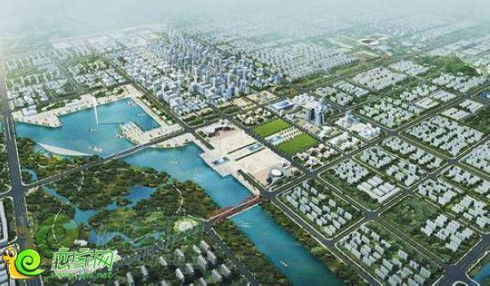 邯郸东部新城规划图