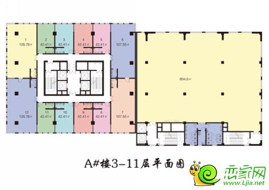 邯郸市居民楼内部结构图