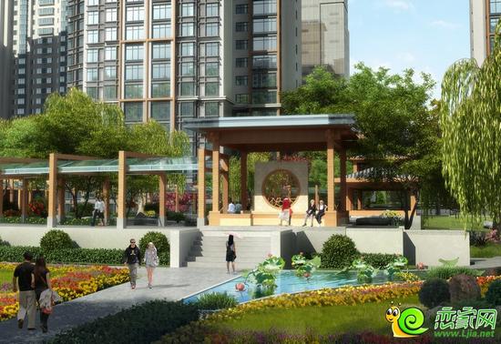 锦绣江南园林景观效果图