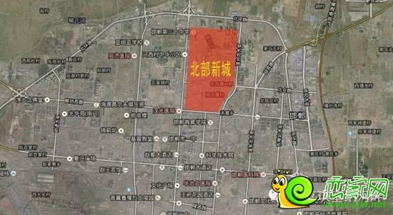丛台西街道地图