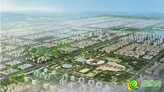 东部新城规划图-鑫都汇45万方Art Deco峰范综合体 开创邯郸多个第一