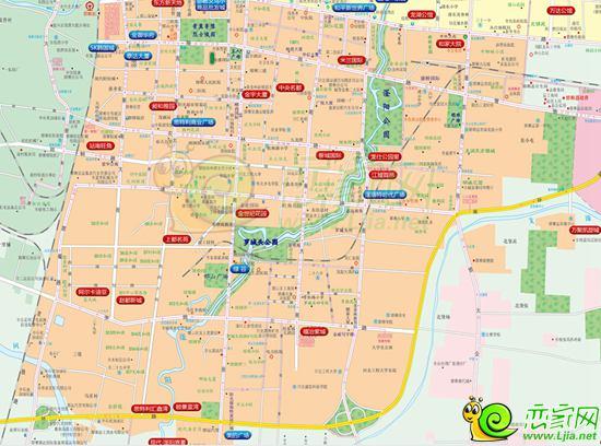 邯郸市邯山区地图版块
