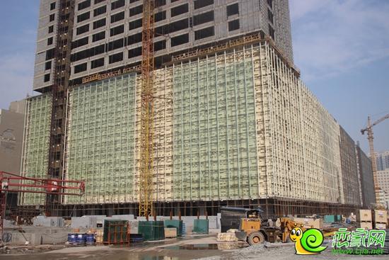 外立面玻璃钢结构大厦图片