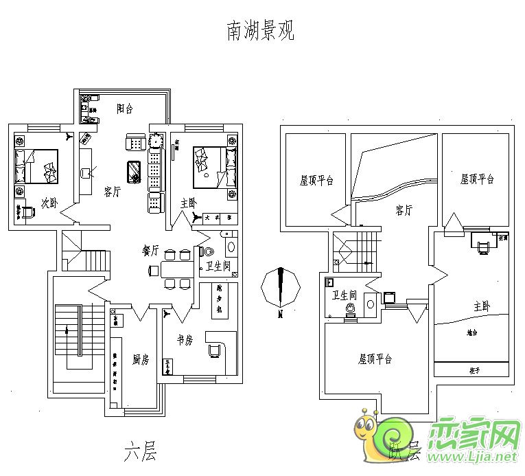 楼层: 第6层/总6层 配套: 天然气, 暖气, 小区封闭, 楼宇对讲, 防盗门