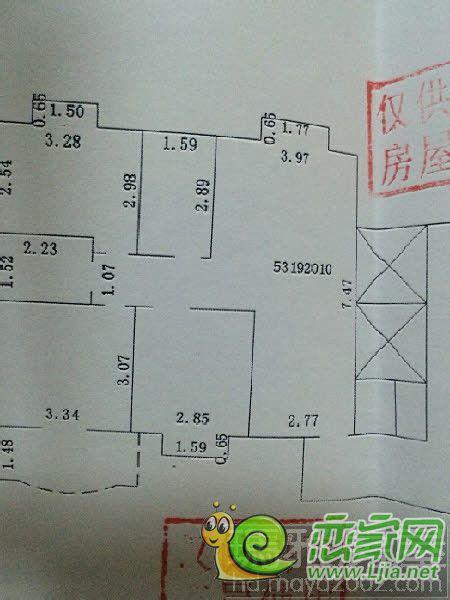 小区楼层电路图