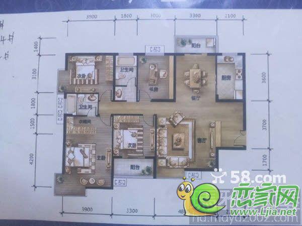 八米宽二十米长的房屋设计图片展示图片