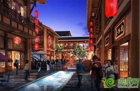 邯郸勒泰串城街详情设计业态_规划淘宝店标怎么导购图片素材图片