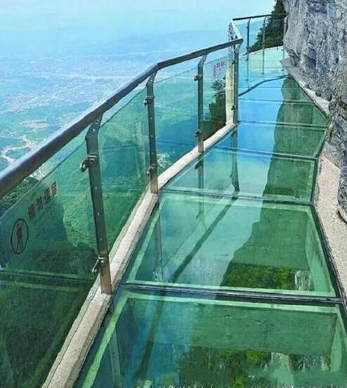 邯郸也有高空玻璃栈道啦!就在武安京娘湖景区!