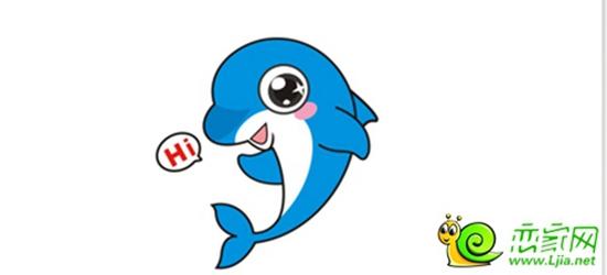 可爱的海豚
