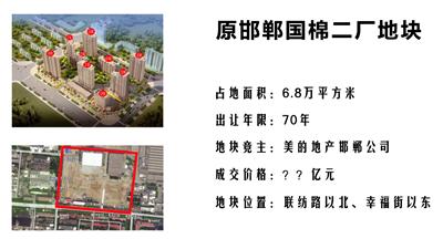 探地:小编带你实地探访美的原邯郸国棉二厂新地块