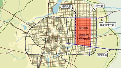 邯郸市东部新区核心区 城市规划设计宣传短片