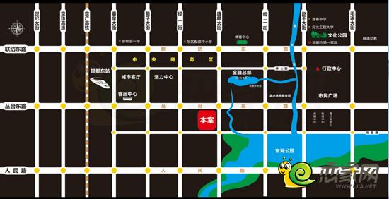 锦悦观邸区位图