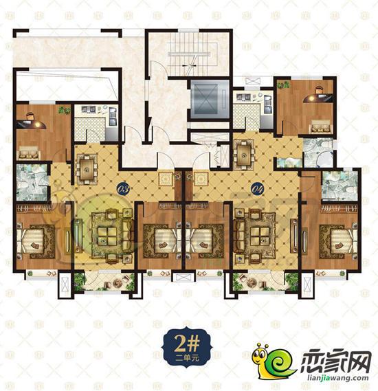 锦悦观邸户型图