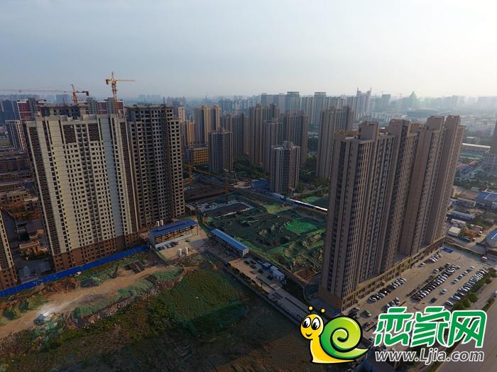 邯郸东区最新航拍实景图,自己认领你家楼盘!